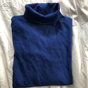Long Sleeve Pima Cotton LLBean Turtleneck